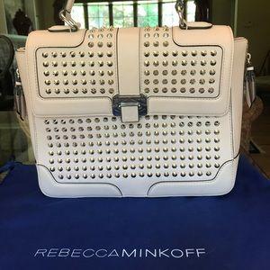 Rebecca minkoff large elle satchel crossbody bag